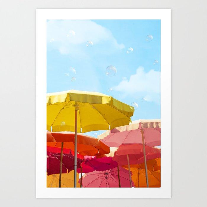 Sunny day in Cinque Terre Art Print
