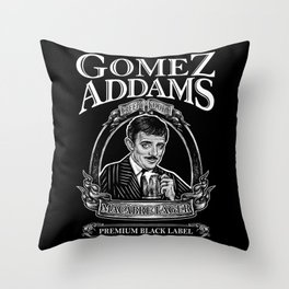 Macabre Lager Throw Pillow