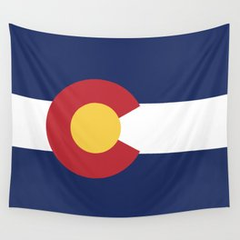 Colorado Flag Wall Tapestry