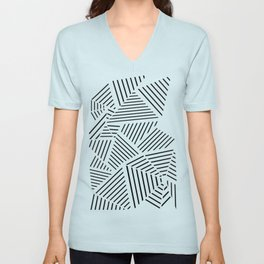 Ab Linear Zoom W Unisex V-Neck