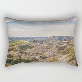 Badlands, Theodore Roosevelt NP, ND 12 Rectangular Pillow