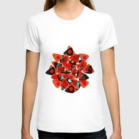 70s T-shirts featuring orange 70s by Matthias Hennig
