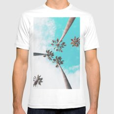 Cali Dreamin' White Mens Fitted Tee X-LARGE