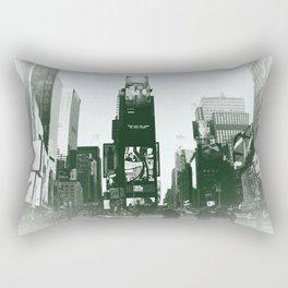 Times Square NYC. Rectangular Pillow
