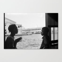 Casablanca Ferry, Cuba, 2008 Canvas Print