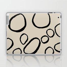 Daisy Circles Laptop & iPad Skin