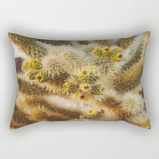 Cholla Cactus Garden IV Rectangular Pillow