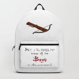 Buffy's Crossbow Backpack