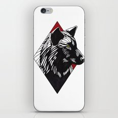 A Wolf at the Door iPhone & iPod Skin