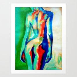 """""""Quiet nude"""" Art Print"""