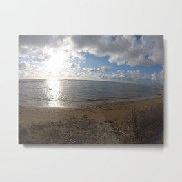 mare in inverno Metal Print