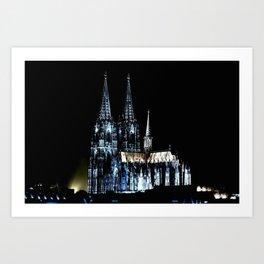 Dom_Cologne Art Print