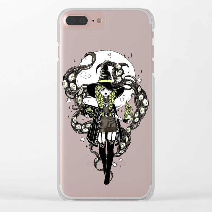 Walpurgis Night Clear iPhone Case