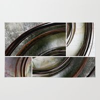 metal Area & Throw Rugs featuring Metal by Erica Schiavi