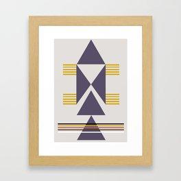 Trekëndësh Framed Art Print