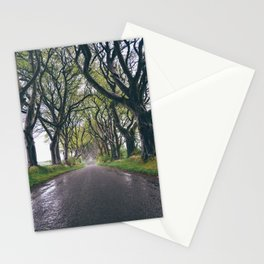 The Dark Hedges of Northern Ireland Stationery Cards