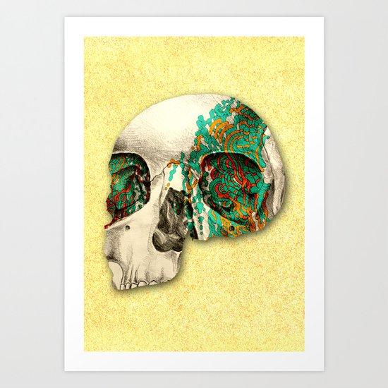 skull2 Art Print