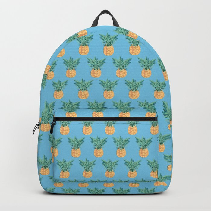 Blue Hawaii, tropical kitsch pineapple Backpack
