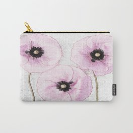 Delicate Poppies Carry-All Pouch
