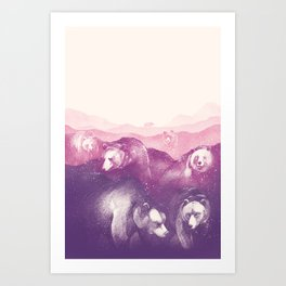 Wild Mountains Art Print