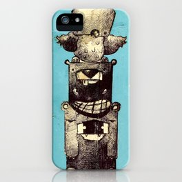 The Trinity Revisited iPhone Case