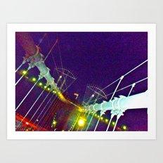 Bridge of Brooklyn Art Print