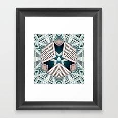 City Buildings Abstract 4 Framed Art Print