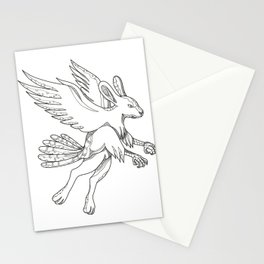 Skvader Flying Doodle Stationery Cards