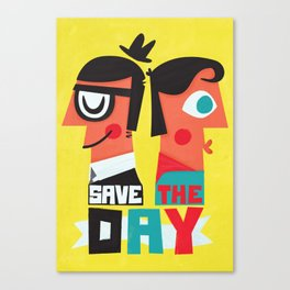 Save the day Canvas Print