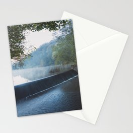 deep hayes country park waterfall Stationery Cards