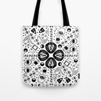 90s Tote Bags featuring 90s Nostalgia  by shutupbek