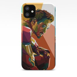WPAP Avenger - Iron Man, Cap America, Thor, Black Widow, Hulk, Nick, Clint iPhone Case