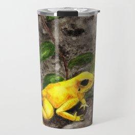 Golden Frog Travel Mug