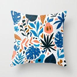 Paradise fruit Throw Pillow