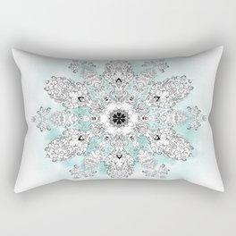 Christmastrehousesnowflake 2 Rectangular Pillow