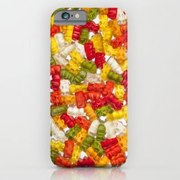 Colorful Gummy Bears iPhone Case