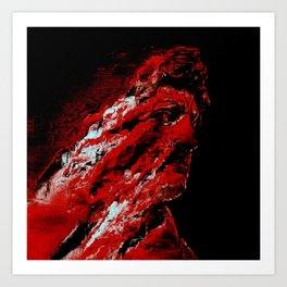 David Suffers Art Print
