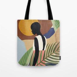 Tropical Girl 2 Tote Bag