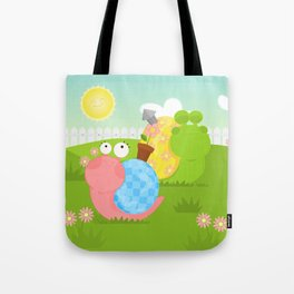 Snails Tote Bag