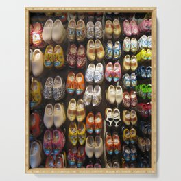 These Clogs Were Made For Walking Serving Tray