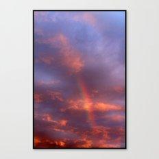 Dramatic Rainbow Canvas Print