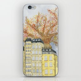 Where Do You Live iPhone Skin
