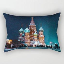 Cultural Landmark (Color) Rectangular Pillow