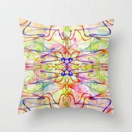 Wallpaper Linear design Throw Pillow