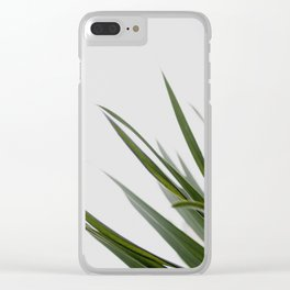 Botanical, Leaves Clear iPhone Case