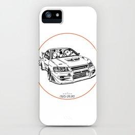 Crazy Car Art 0196 iPhone Case