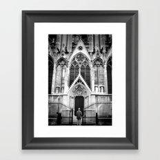 Awesome Notre Dame Framed Art Print