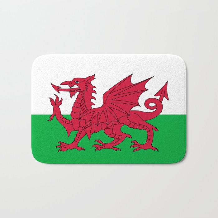 Flag of Wales - Hi Quality Authentic version Bath Mat