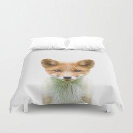 Baby Fox Duvet Cover