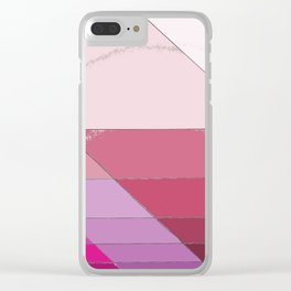 uneven Clear iPhone Case